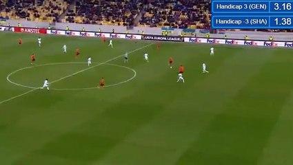 Гол Бернард Анисио Калдейра Дуарте · Шахтер (Донецк) - Гент (Гент) - 3:0