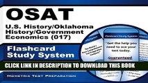 [PDF] OSAT U.S. History/Oklahoma History/Government/Economics (017) Flashcard Study System: CEOE