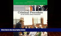 Big Deals  Criminal Procedure for the Criminal Justice Professional  Full Ebooks Most Wanted