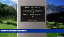 Big Deals  Introduction to Criminal Evidence and Court Procedure  Full Ebooks Most Wanted