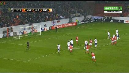Гол Юнус Малли · Майнц (Майнц) - Андерлехт (Брюссель) - 1:0