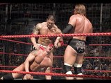official wwe Batista vs Triple H vs Shane McMahon vs Randy Orton full match HHH Almost died wwe 2016