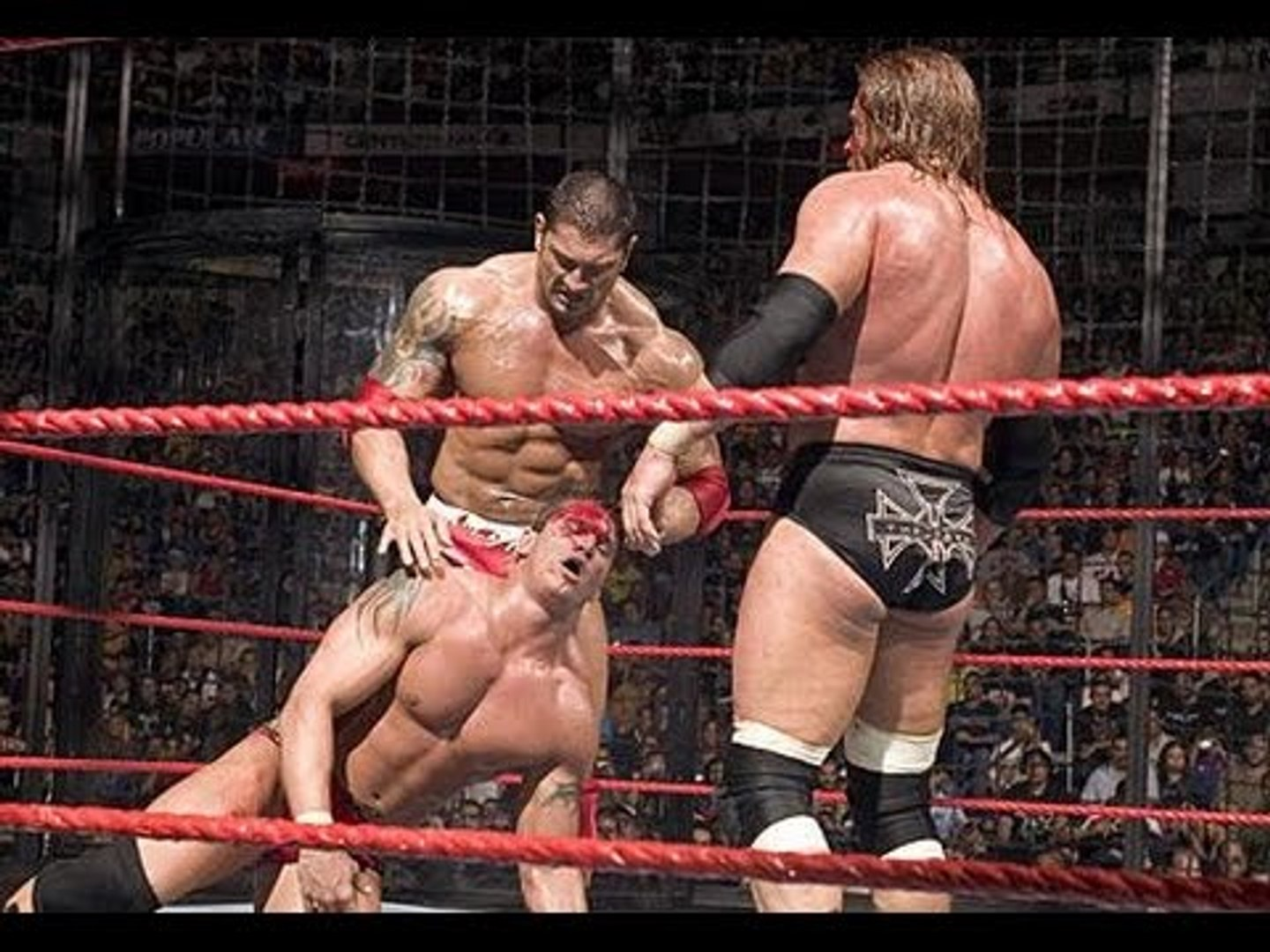 official wwe Batista vs Triple H vs Shane McMahon vs Randy Orton full match HHH Almost died wwe 2016 - video Dailymotion
