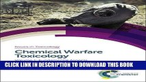 [PDF] Chemical Warfare Toxicology: Volume 1: Fundamental Aspects (Issues in Toxicology) Full