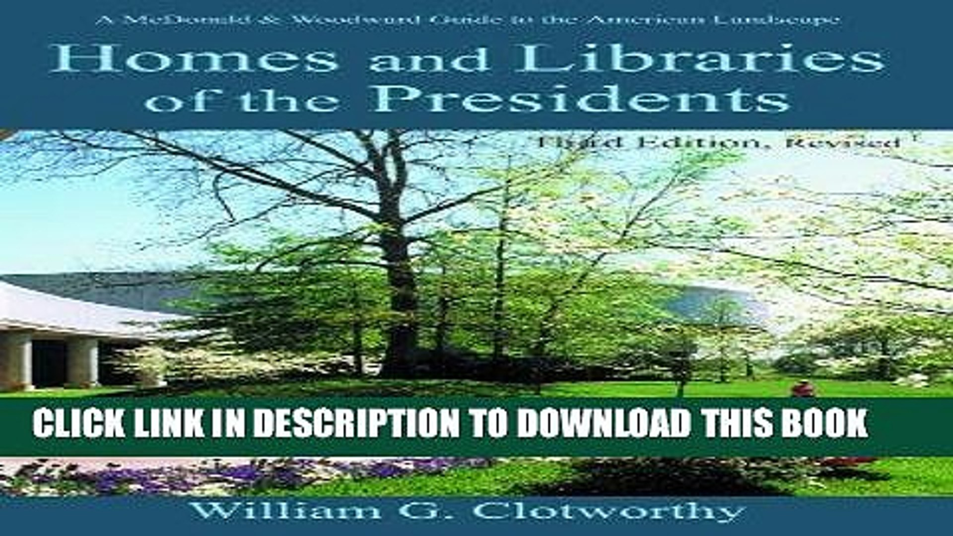 [PDF] Homes and Libraries of the Presidents - Third Edition (Homes   Libraries of the Presidents)