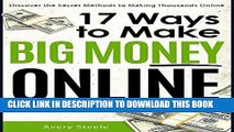 [PDF] 17 Ways to Make Big Money Online (How to Make Money Online   Work from Home) (Money Making