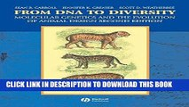 [Read PDF] From DNA to Diversity: Molecular Genetics and the Evolution of Animal Design Download