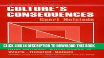 [PDF] Culture s Consequences: International Differences in Work-Related Values (Cross Cultural