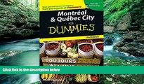 Big Deals  Montreal   Quebec City For Dummies (Dummies Travel)  Full Ebooks Best Seller