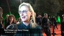 Meryl Streep sul red carpet della Festa del cinema di Roma:'Mi sento come una pioniera'
