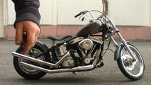 Harley Softail: A Rubber Mounted Twin Cam Engine in an older EVO