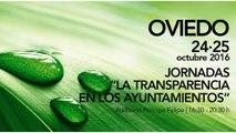 Ayuntamiento de Oviedo organiza las jornadas: La transparencia en los ayuntamientos
