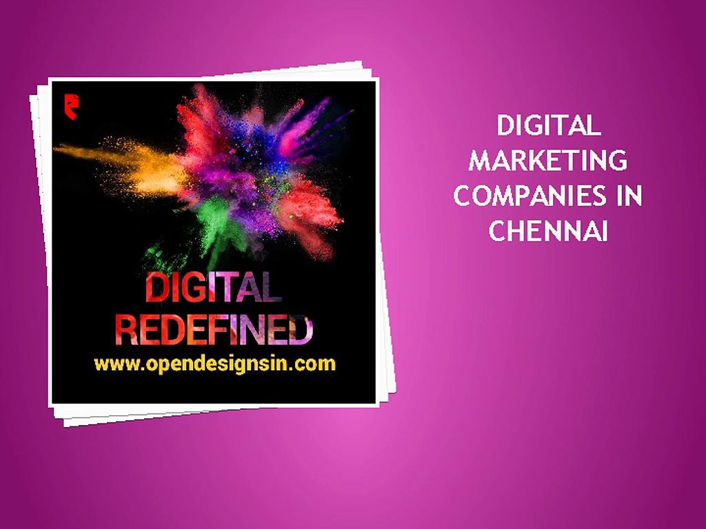 Top Digital Marketing Companies in Chennai Digital Marketing Company in Chennai,