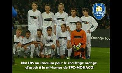 A voir absolument : Tirs de tous nos U15 au challenge orange !!