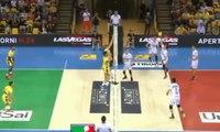 Ngapeth et ses amis ont marqué le point de l'année en volley-ball !