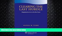 different   Clearing the Last Hurdle: Mapping Success on the Bar Exam