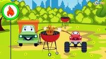 Bajki Dla Dzieci - Śmieciarka - Animacje dla dzieci | Samochody bajka o maszynach dla dzieci