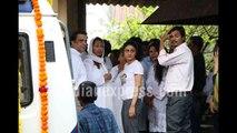 Emotional shilpa shetty father death Video | shilpa shetty father death Video | shipla father death