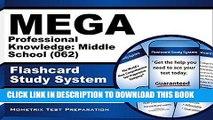 [Free Read] MEGA Professional Knowledge: Middle School (062) Flashcard Study System: MEGA Test