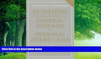Big Deals  Guidelines for the Assessment of General Damages in Personal Injury Cases (JSB