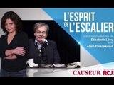 L'esprit de l'escalier  26 Juin 2016 Alain Finkielkraut & Elisabeth Levy sur RCJ