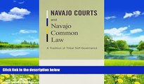 Big Deals  Navajo Courts and Navajo Common Law: A Tradition of Tribal Self-Governance (Indigenous