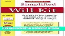 [PDF] Simplified Will Kit: National Legal Kit Series (Simplified Will Kit (W/CD)) Full Collection
