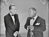 LOUIS ARMSTRONG & BING CROSBY – Basin Street Blues / Lazy Bones (1959, HD)