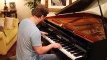 X-MEN theme on piano ( x-men 90´s cartoon opening music )