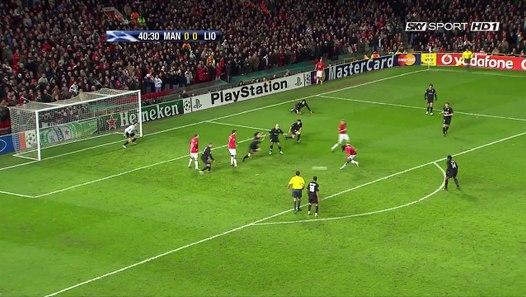 اهداف مباراة مانشستر يونايتد و ليون 1-0 2008 - Vidéo ...