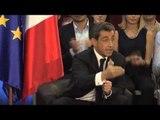 Nicolas Sarkozy s'exprime au sujet des modifications à apporter à l'UMP