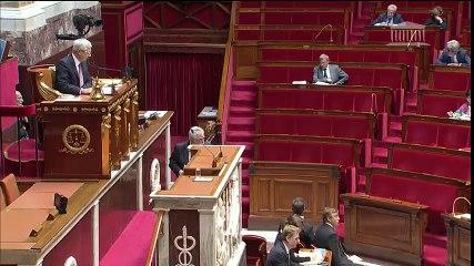 Assemblée Guerres des Hollande Valls à l'extérieur André Chassaigne GDR