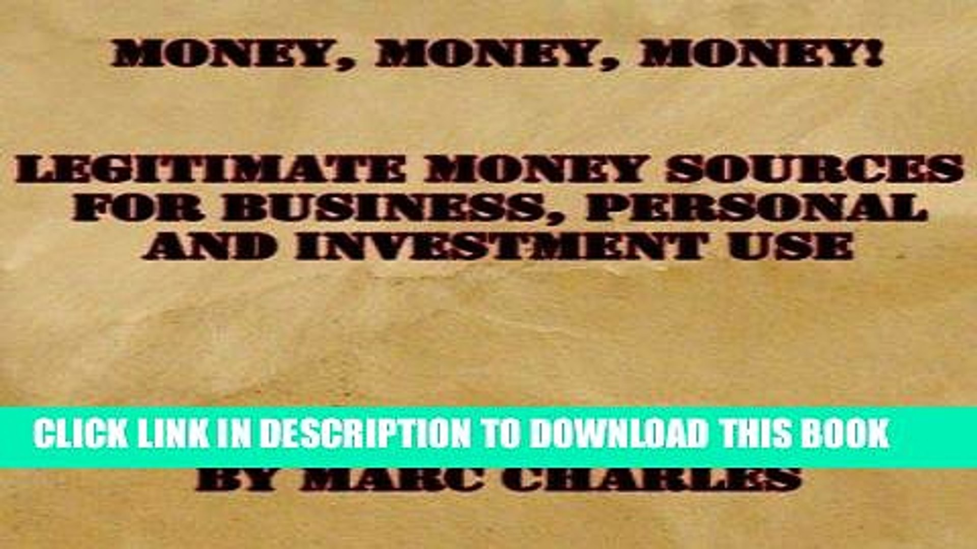 [Read] PDF Money, Money, Money! New Version