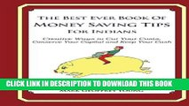 [Free Read] The Best Ever Book of Money Saving Tips for Indians Free Online