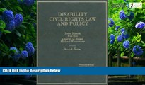 Big Deals  Disability Civil Rights Law and Policy (Hornbook)  Best Seller Books Most Wanted