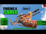 Fallout 4 - How to find a Flamer (Flame Thrower Location) Best Weapons Location Guide
