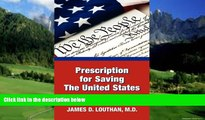 Books to Read  Prescription for Saving the United States the Great Republic  Best Seller Books