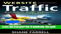 [Read] Ebook Website Traffic: Free Website Traffic Siphons For Targeted Visitors New Reales