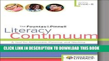 [PDF] The Fountas   Pinnell Literacy Continuum, Expanded Edition: A Tool for Assessment, Planning,