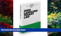 Big Deals  Ohio Landlord Tenant Law, 2012-2013 ed. (Baldwin s Ohio Handbook Series)  Best Seller