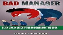Ebook Bad Manager (management, office management, business management, employees, managing, job