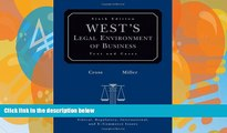Big Deals  West s Legal Environment of Business: Text and Cases  Full Ebooks Best Seller