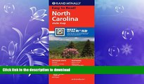 READ BOOK  Rand McNally Folded Map: North Carolina (Rand McNally State Maps) FULL ONLINE