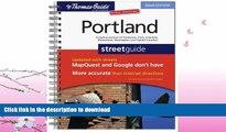 FAVORITE BOOK  The Thomas Guide Portland Street Guide (Thomas Guide Portland Oregon) FULL ONLINE