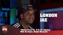 London Jae  - Advice From T.I. & B.o.B, Signing With No Genre, Studio Moments (247HH Exclusive) (247HH Exclusive)