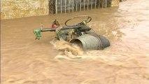 Milot, shpëtohet i moshuari, e rrëmbyen ujërat gjatë natës - Top Channel Albania - News - Lajme