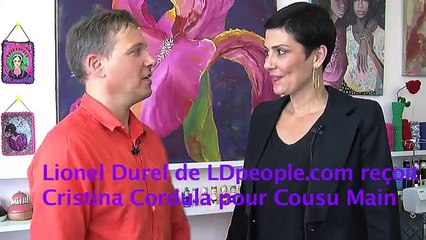 Cristina Cordula en interview EXCLU sur LDpeople pour Cousu