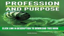 [Read] Ebook Profession and Purpose: A Resource Guide for MBA Careers in Sustainability New Version