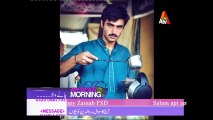 Chai Wala (Arshad Khan) making Chai in Live Mehkti Morning Show