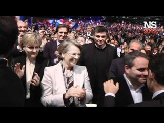 Meeting de Marseille : sortie de scène de Nicolas Sarkozy